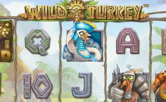 Wild Turkey Spilleautomater NetEnt slider