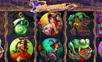 Wild Witches Spilleautomater NetEnt slider