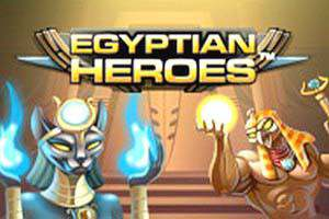online Spilleautomater Egyptian Heroes NetEnt