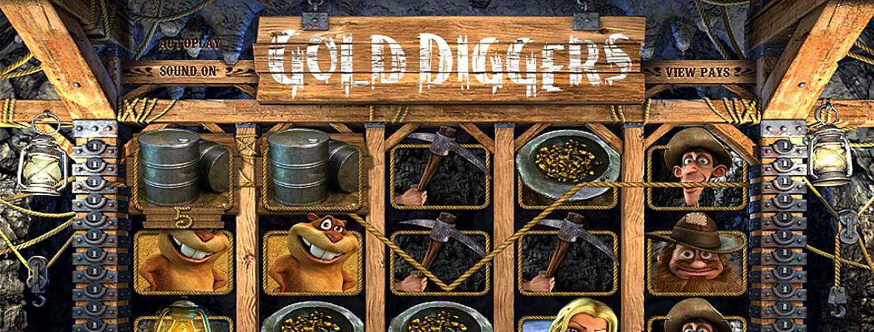 Gold Diggers Online Automater - BetSoft Slots - Rizk Norsk Casino