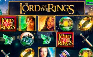 Lord Of The Rings Microgaming spilleautomater slider