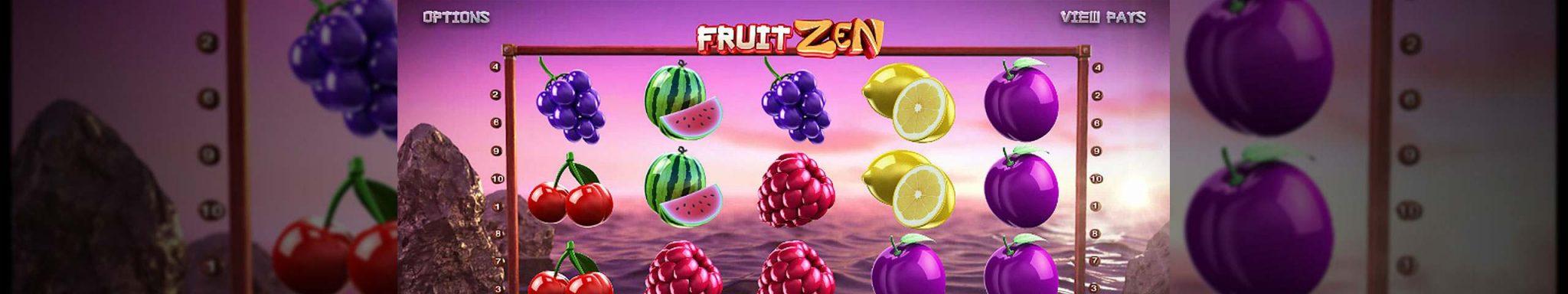 Fruit Zen Betsoft himmel spill spilleautomater slider