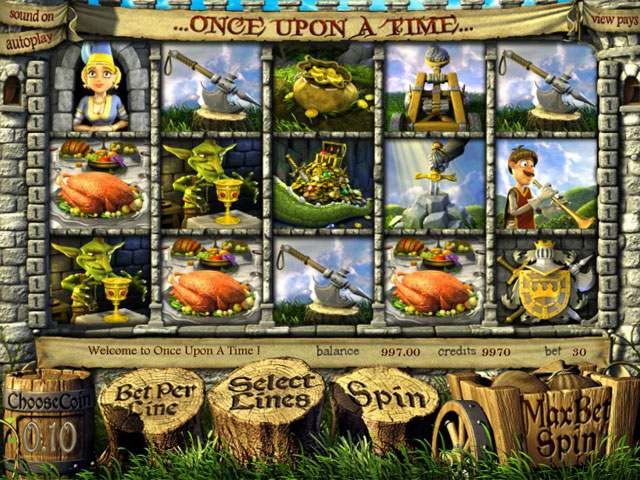 Once Upon A Time Betsoft spilleautomater screenshot