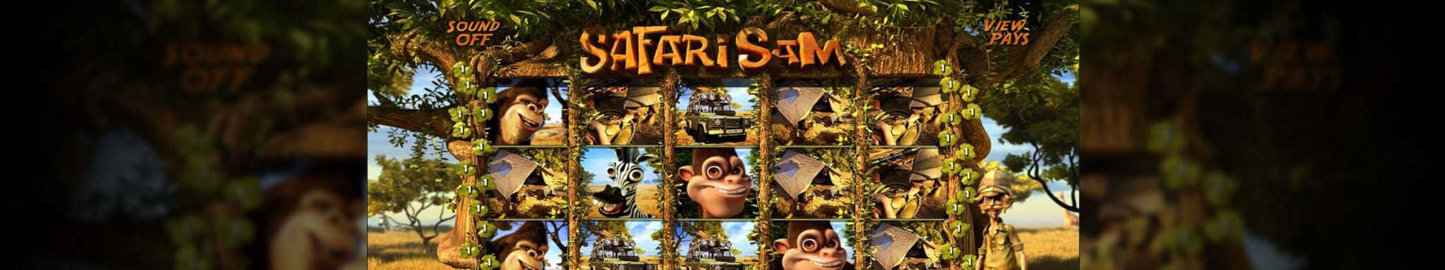 Safari Sam Betsoft spilleautomater slider