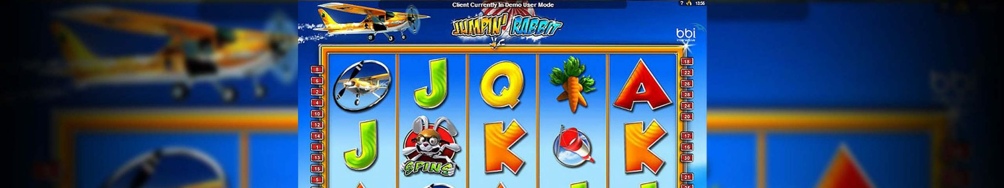 Jumpin Rabbit microgaming spilleautomater slider