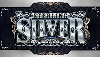 Sterling Silver 3D/2D