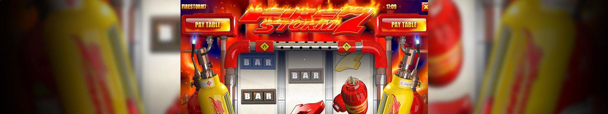 Norske Spilleautomater Firestorm 7 Rival Slider - Himmelspill.com
