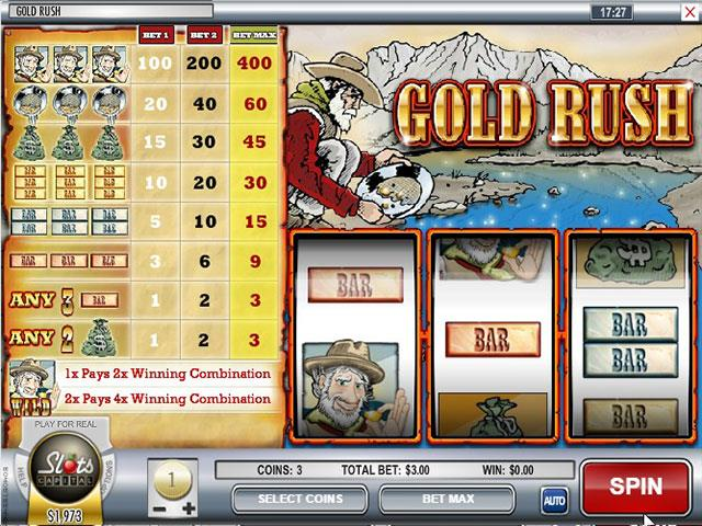 Norske Spilleautomater Gold Rush Rival SS - Himmelspill.com