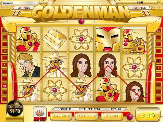 Norske Spilleautomater   Golden Man Rival   SS  - Himmelspill.com