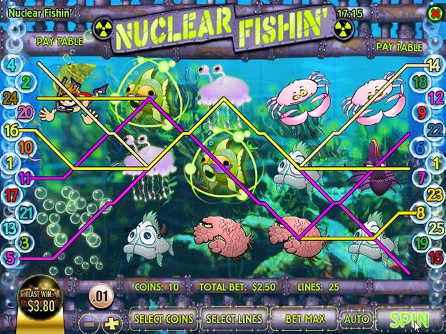 Norske Spilleautomater   Nuclear Fishin'Rival   SS  - Himmelspill.com