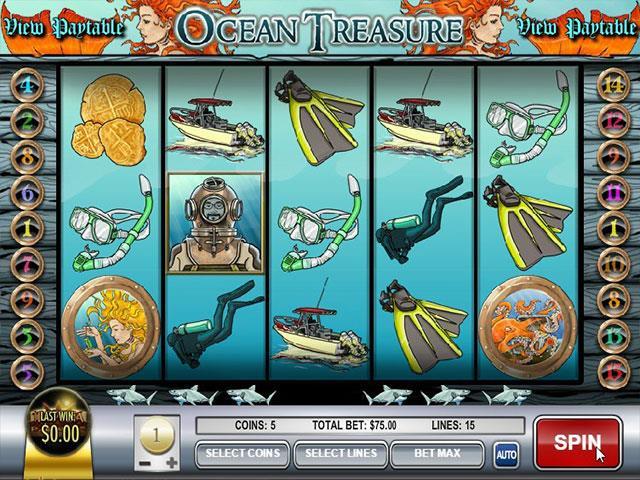 Norske Spilleautomater   Ocean TreasureRival   SS  - Himmelspill.com