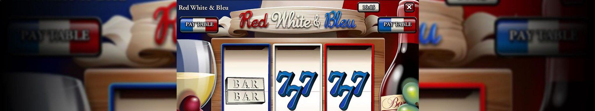 Norske Spilleautomater Red White & BleuRival Slider - Himmelspill.com