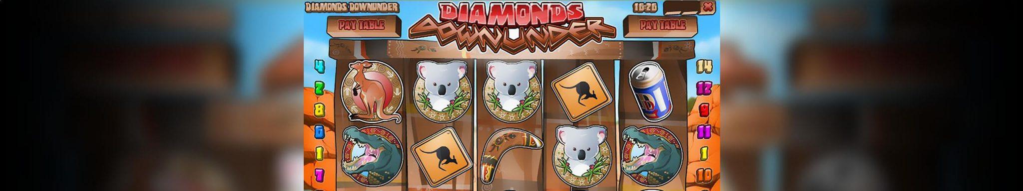 Norske Spilleautomater Diamonds Downunder Rival Slider - Himmelspill.com