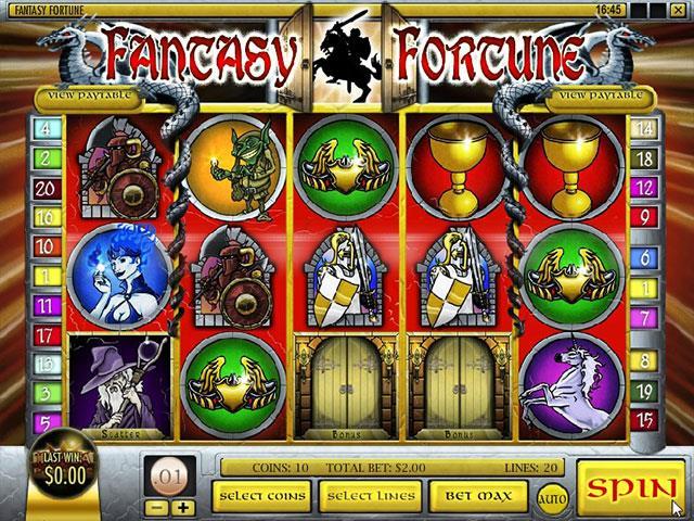 Norske Spilleautomater   Fantasy Fortune Rival   SS  - Himmelspill.com
