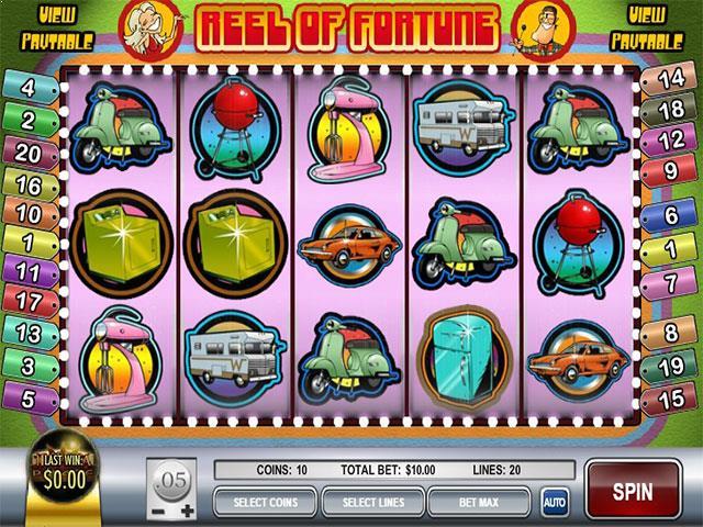 Norske Spilleautomater Reel of Fortune Rival   SS  - Himmelspill.com