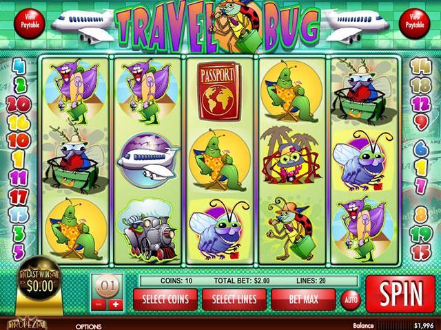 Norske Spilleautomater Travel Bug Rival   SS  - Himmelspill.com