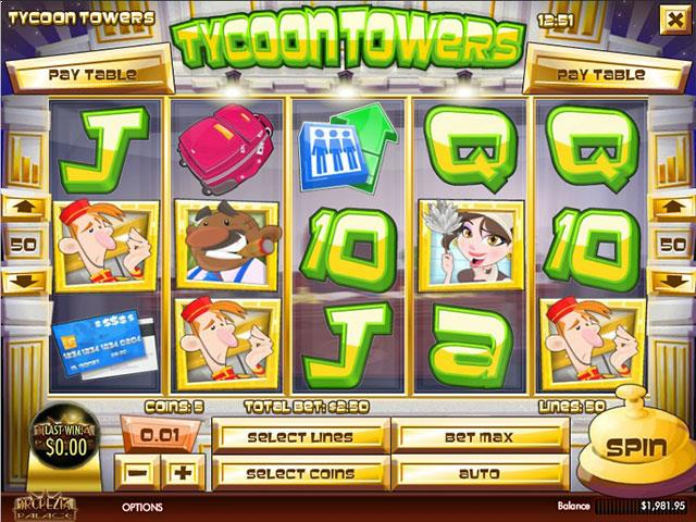 Norske Spilleautomater Tycoon Towers Rival   SS  - Himmelspill.com