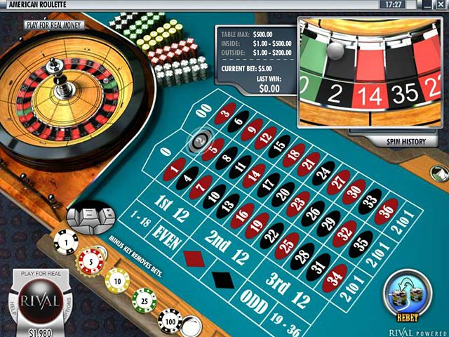 Roulette American Roulette, Rival SS - Himmelspill.com