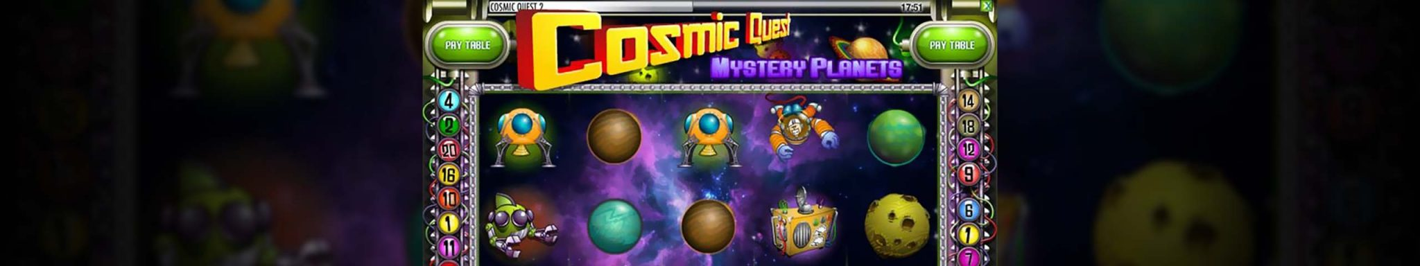 Cosmic Quest: Mystery planets