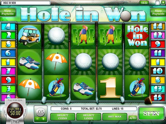 Norske Spilleautomater Hole in Won, Rival SS - Himmelspill.com