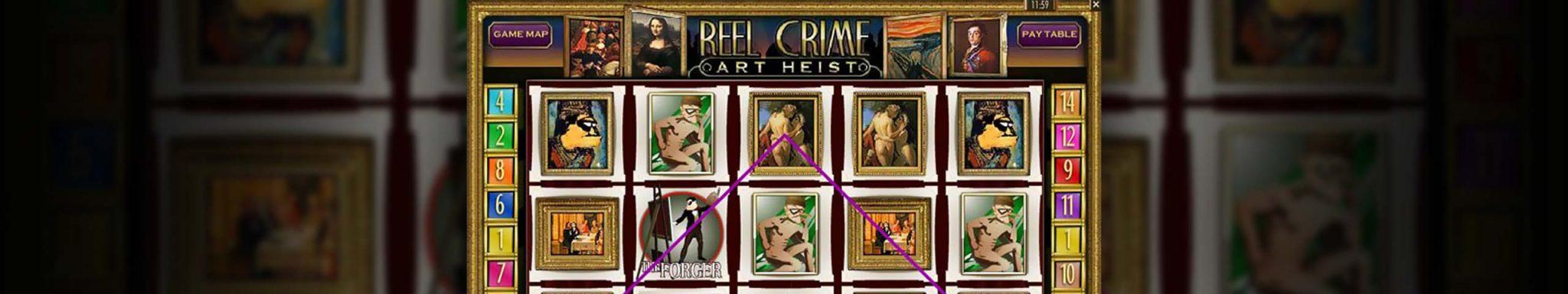 Norske Spilleautomater Reel Crime: Art Heist, Rival Slider - Himmelspill.com