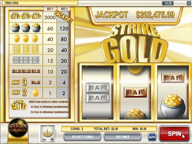 Norske spilleautomater Strike Gold, Rival SS - Himmelspill.com