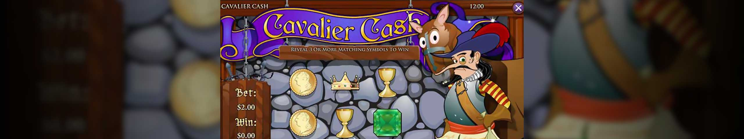 Skrapeloddspill Cavalier Cash, Rival Slider - Himmelspill.com