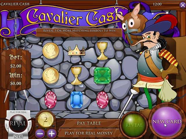 Skrapeloddspill Cavalier Cash, Rival SS - Himmelspill.com
