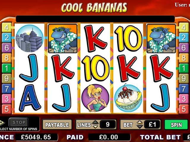 Norske spilleautomater Cool Bananas, Cryptologic SS - Himmelspill.com