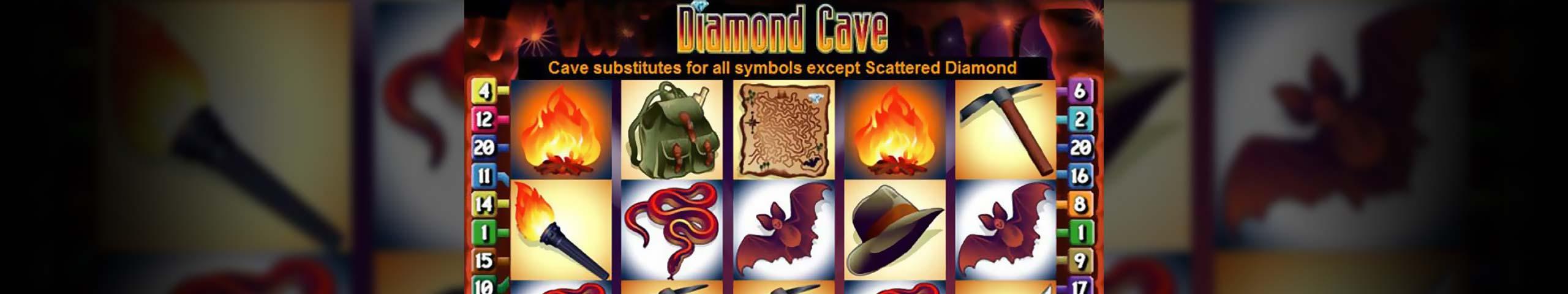 Norske spilleautomater Diamond Cave, Cryptologic Slider - Himmelspill.com