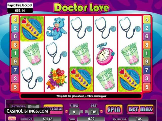 Norske spilleautomater Doctor Love, Cryptologic SS - Himmelspill.com