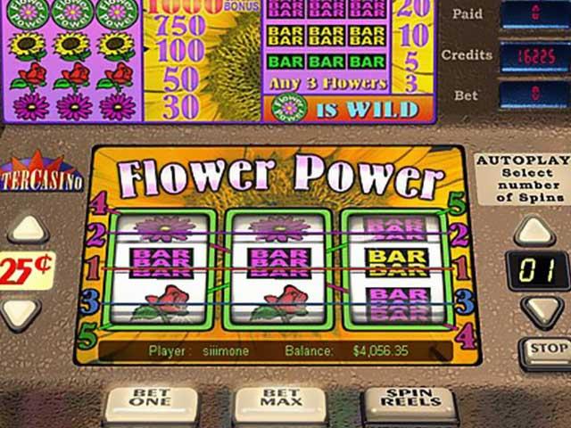 Norske spilleautomater Flower Power, Cryptologic SS - Himmelspill.com