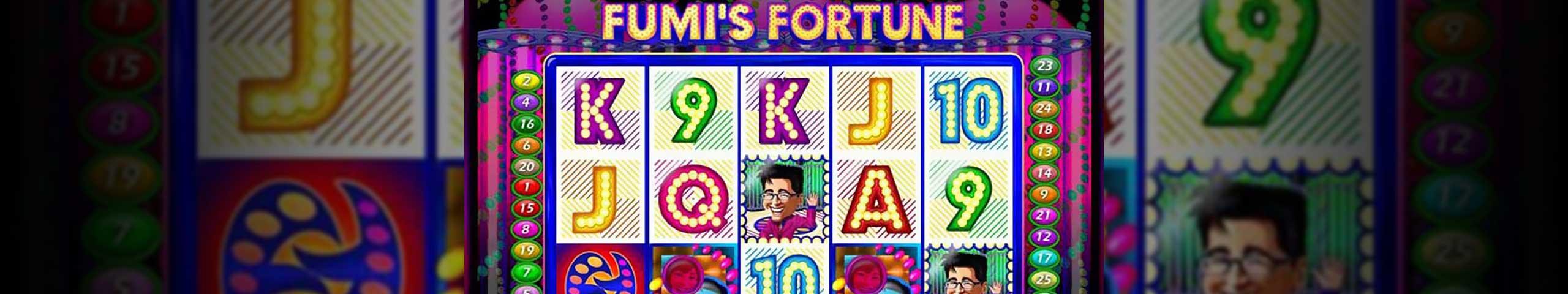 Norske spilleautomater Fumi's Fortune, Cryptologic Slider - Himmelspill.com