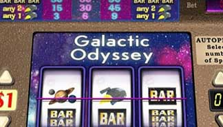 Galactic Odyssey spilleautomater Cryptologic  himmelspill.com