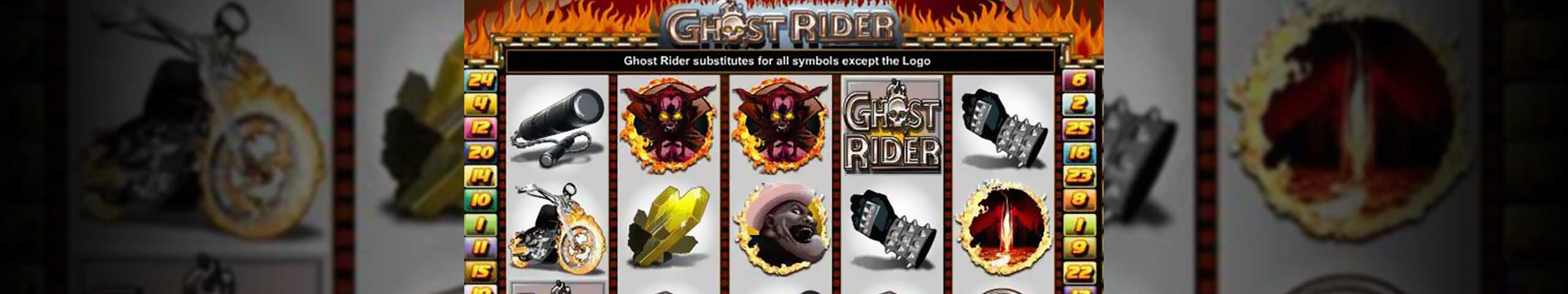 Norske spilleautomater Ghost Rider, Cryptologic Slider - Himmelspill.com