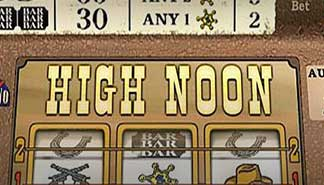 High Noon spilleautomater Cryptologic (WagerLogic)  himmelspill.com