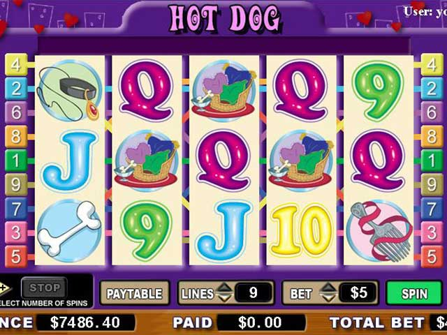 Norske spilleautomater Hot Dog, Cryptologic SS - Himmelspill.com