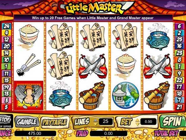 Norske spilleautomater Little Master, Cryptologic SS - Himmelspill.com