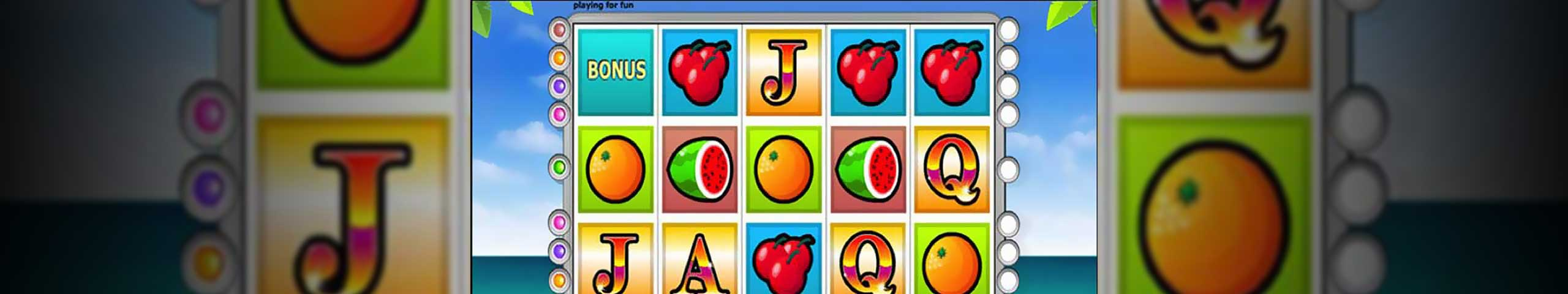 Norske spilleautomater Paradise Reels, Cryptologic Slider - Himmelspill.com