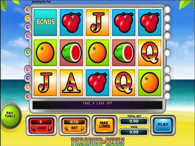 Norske spilleautomater Paradise Reels, Cryptologic SS - Himmelspill.com