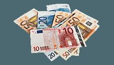 euro valutaen på Himmelspill