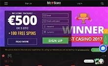 Screen by casino BitStarz