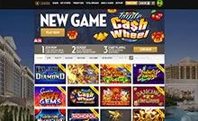 Screen by casino Caesars