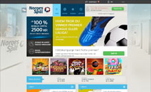 NorgesSpill kasino gjennomgang skjermbilde på  himmelspill.com 1