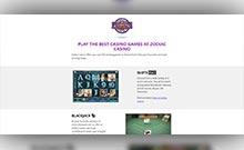 Zodiac kasino gjennomgang skjermbilde på  himmelspill.com 4