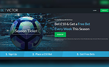 Screen by casino BetVictor