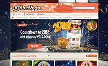 LeoVegas kasino gjennomgang skjermbilde på  himmelspill.com 2