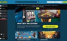Thrills kasino gjennomgang skjermbilde på  himmelspill.com 1