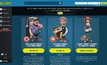 Thrills kasino gjennomgang skjermbilde på  himmelspill.com 2