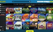 Thrills kasino gjennomgang skjermbilde på  himmelspill.com 3